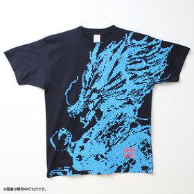 青龍 ビッグプリントTシャツ