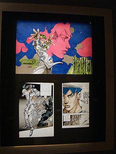 2009年1月にルーヴル美術館にて展示された作品。「Rohan au Louvre」フランス版の単行本表紙には、上のイラストが使用される。