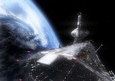 公式サイトで公開されているイメージ画像。宇宙、そこは最後のフロンティア。