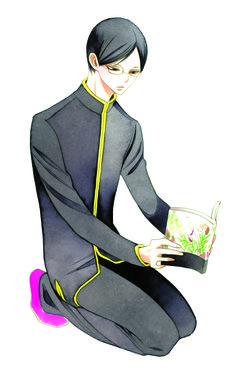 中村明日美子が手がける「楽園」のイメージキャラクター、その名も「楽園くん」。(C)中村明日美子/白泉社