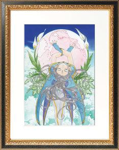 「ああっ女神さまっ」の記念アートグラフ額付き。