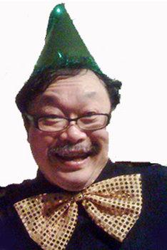 竹熊健太郎。京都精華大学マンガ学部の教授も務めている。