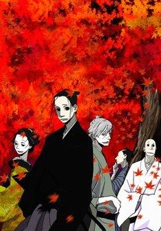 TVアニメ「さらい屋五葉」キービジュアル。(C)2010 オノ・ナツメ/小学館・さらい屋五葉製作委員会