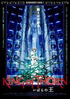 劇場版「いばらの王 -King of Thorn-」通常版ポスター。「いばらの王 –King of Thorn-」 製作:バンダイビジュアル サンライズ エンターブレイン 角川映画 テレビ東京 電通 ソニーPCL 配給:角川映画 (C)YUJI IWAHARA/PUBLISHED BY ENTERBRAIN, INC./Team IBARA