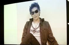 「屍鬼」にて桐敷役を演じるGACKTからは、ビデオメッセージが寄せられた。