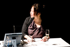 写真は、去る3月19日にBillboard Live TOKYOで開催された「西原理恵子の人生画力対決」での西原理恵子。