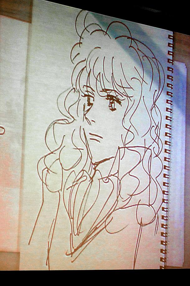 浦沢が描いた「オスカル」。