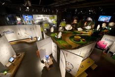 「ドラえもんの科学みらい展」会場の様子。