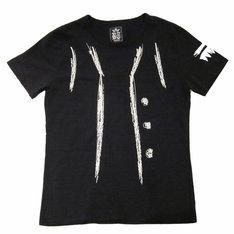 Tシャツ「ルフィ」のフロントは「ルフィ」の定番ファッションであるベストをイラスト化したデザイン。(C)尾田栄一郎/集英社・フジテレビ・東映アニメーション