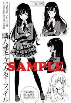コミックとらのあなで配布される小冊子より。(C)2010 Itachi/Yomi Hirasaka/MF