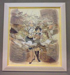 森薫が描いたCOMIC ZINのイメージキャラクター。額装された複製原画が当日販売される予定だ。