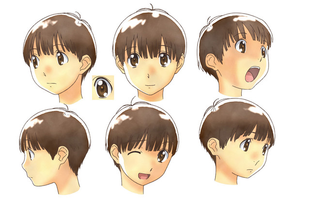 二鳥修一の設定画(C)2011 Takako Shimura/PUBLISHED BY ENTERBRAIN, INC./「放浪息子」製作委員会