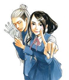 「アゲイン!!」の主人公は、無愛想で周囲から気味悪がられている金一郎(画像左)。彼が胸に秘める思いとは。