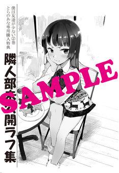 コミックとらのあなで配布される小冊子。(C)2011 いたち・平坂読/メディアファクトリー