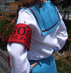 アニメイトの一部店舗では、「涼宮ハルヒの驚愕」初回限定版の発売日に県立北高校制服を着用したコスプレスタッフも登場。腕章には「SOS団アニメイト支部」の文字が。