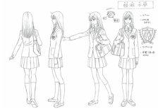 TVアニメ「ちはやふる」のキャラクター設定資料。(c)末次由紀/講談社・VAP・NTV