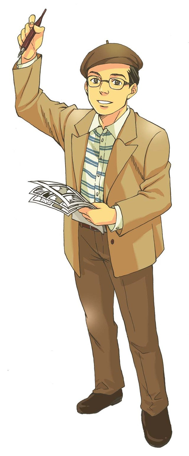 18号:手塚治虫(甘夏柑子)(C)Kanko Amanatsu/Asahi Shimbun Publications Inc.