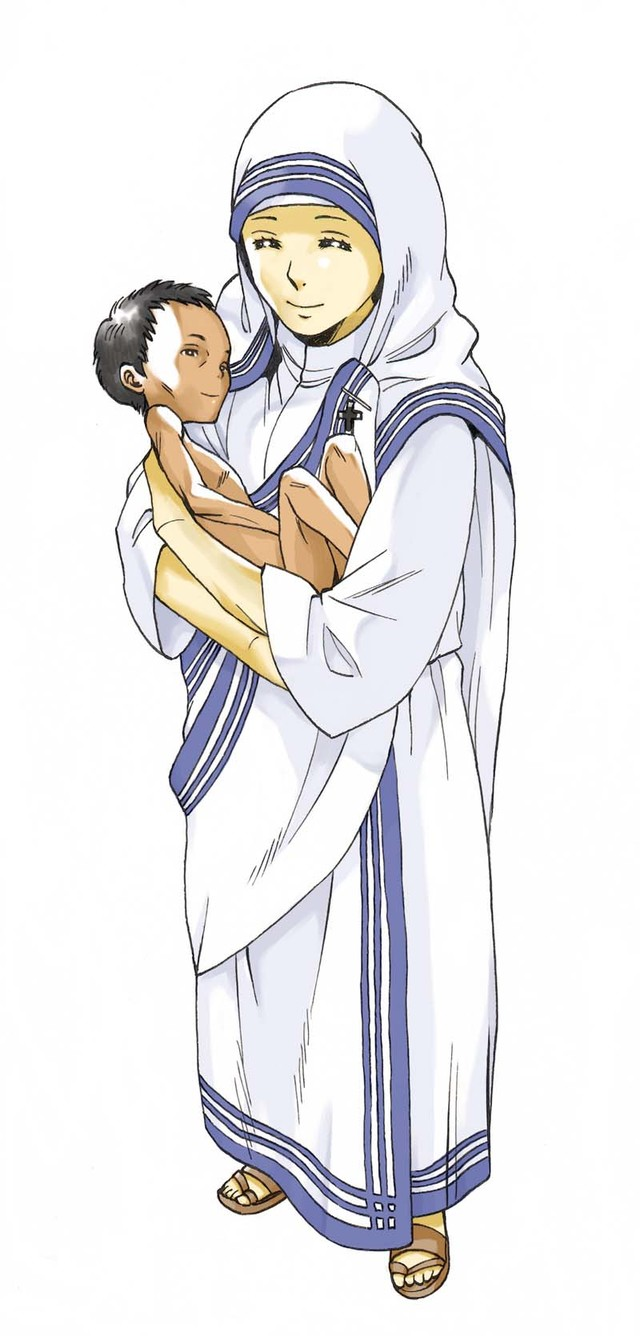 2号:マザー・テレサ(風屋カズヤ)(C)Kazuya Kazeya/Asahi Shimbun Publications Inc.