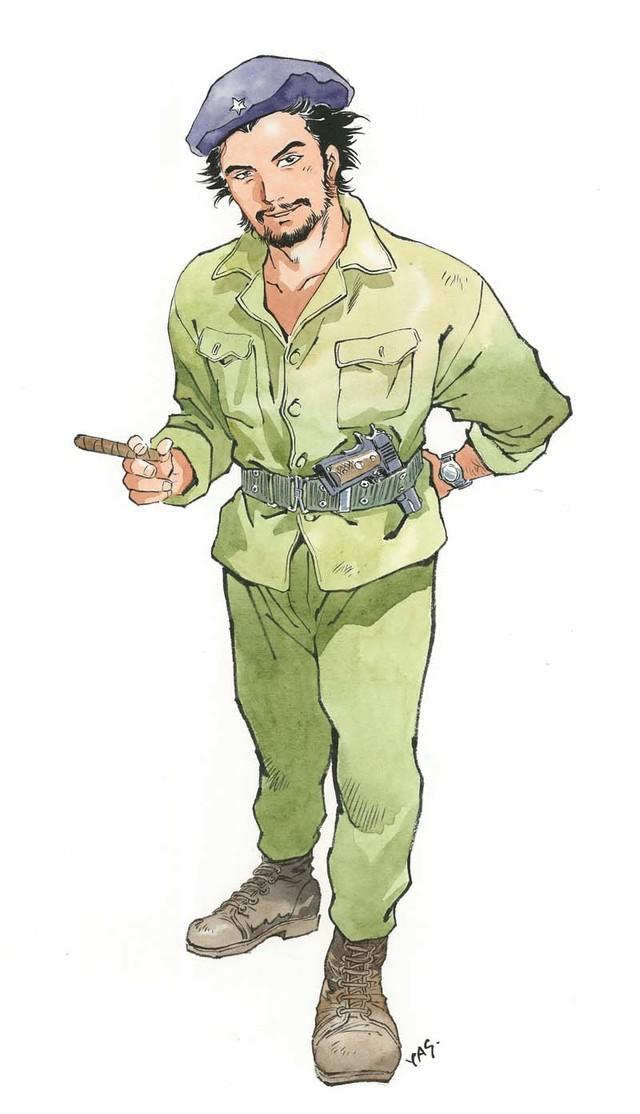 50号:チェ・ゲバラ(安彦良和)(C)Yoshikazu Yasuhiko/Asahi Shimbun Publications Inc.