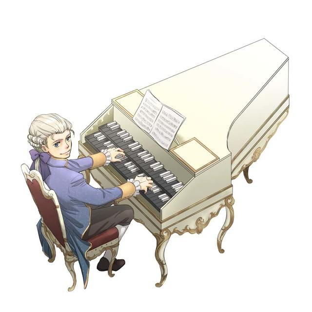 5号:モーツァルト(浦地コナツ)(C)Konatsu Urazi/Asahi Shimbun Publications Inc.