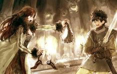 橙乃ままれの小説「まおゆう魔王勇者」のキービジュアル。(C)2012 Touno Mamare/PUBLISHED BY ENTERBRAIN, INC. イラスト:toi8