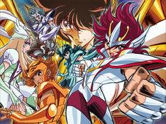 「聖闘士星矢Ω」は2012年4月よりテレビ朝日にて放送開始。(C)車田正美/東映アニメーション・テレビ朝日・電通