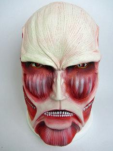 「進撃の巨人 超大型巨人マスク」価格は5775円。(C)諫山創/講談社