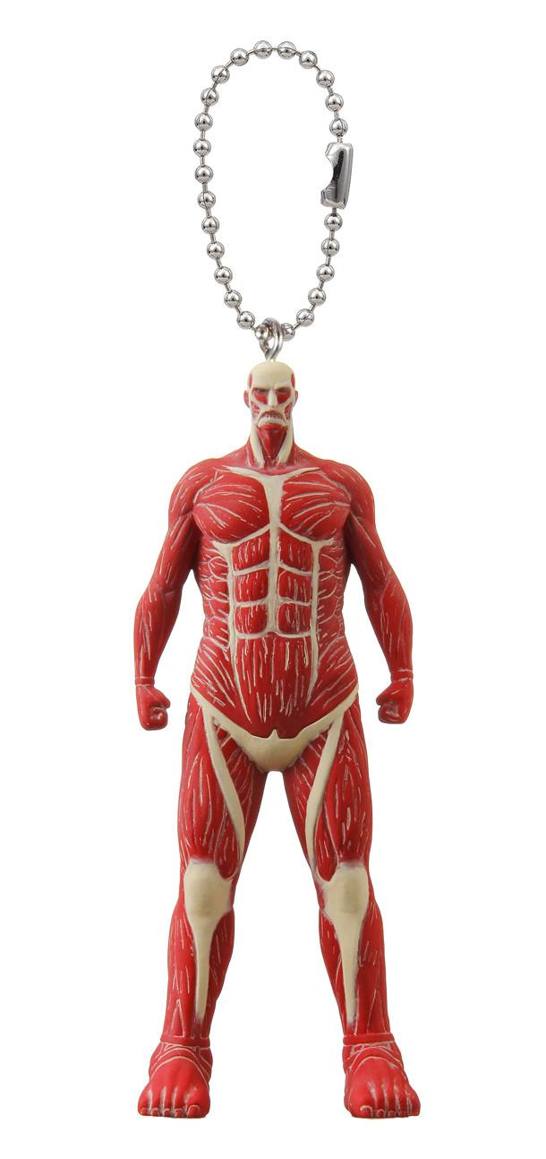 「進撃の巨人 絶望の鉄鎖スイング」の超大型巨人。