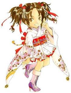 藤島康介がデザインした「京都国際マンガ・アニメフェア2012」の公式キャラクター。(C)藤島康介/クロノギア クリエイティウ