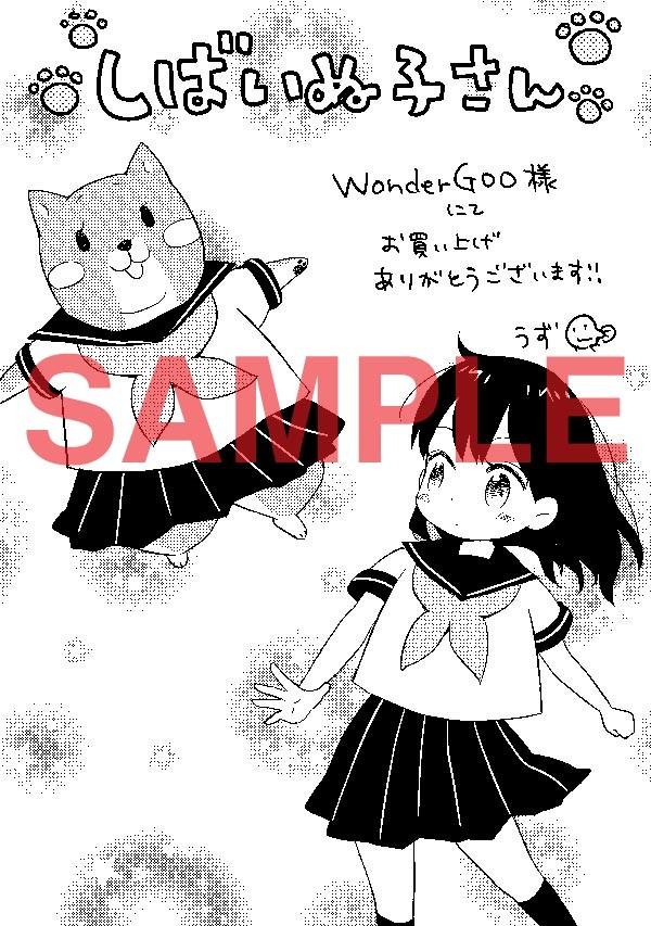 WonderGOOで配布されるペーパー。