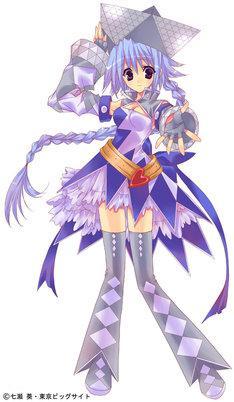 七瀬葵がイラストを手がけた東京ビッグサイトイメージキャラクター。
