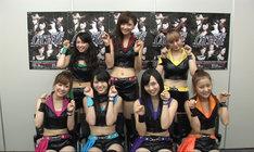 舞台「キャッツ♥アイ」に出演する劇団ゲキハロの7名。