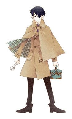 「下請探偵 鋸織粕日郎シリーズ」の予告カット。