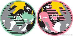 「あまんちゅ!」6巻初回限定版に付属するコースター2枚セット。