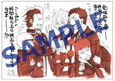 プレゼントされる加藤和恵描き下ろしポストカード。