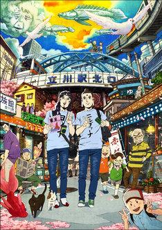 新たに公開された映画「聖☆おにいさん」キービジュアル。 (C)中村 光・講談社/SYM 製作委員会