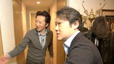 SWITCHインタビュー 達人達「荒木飛呂彦×千住明」の場面写真。写真提供:NHK