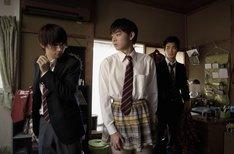 映画「男子高校生の日常」メインカット(C)2013山内泰延/スクウェアエニックス・映画『男子高校生の日常』製作委員会