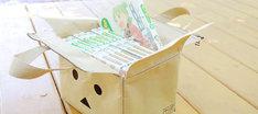 「ダンボーのカートンバッグ」の使用例。(C)KIYOHIKO AZUMA / YOTUBA SUTAZIO