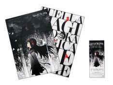 劇場前売り券第1弾と、特典の特製クリアファイル。(c)Magica Quartet/Aniplex・Madoka Movie Project Rebellion