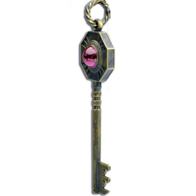 「ジョジョの奇妙な冒険」第5部に登場した鍵を再現したネックレス「キラッキラリ」(c)LUCKY LAND COMMUNICATIONS / SHUEISHA