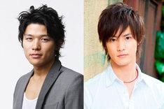 兄・宮本篤を演じる鈴木亮平(左)と、弟・宮本明を演じる白石隼也(右)。