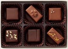 テオブロマによる「『失恋ショコラティエ』チョコレートコレクション」。