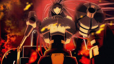 アニメ「健全ロボ ダイミダラー」のプロモーション映像より。(c)なかま亜咲・エンターブレイン/ペンギン帝国