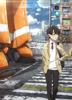 「ALDNOAH.ZERO」に登場する界塚伊奈帆。キャストは花江夏樹が務める。(c)Olympus Knights/Aniplex・Project AZ