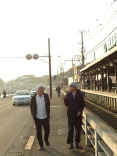 (左から)湯浅政明監督、松本大洋。