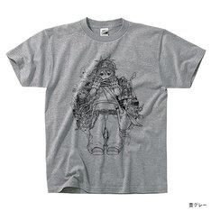 PEZ Tシャツ 杢グレー