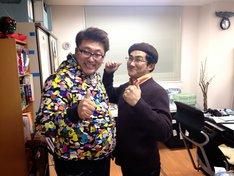 写真左から福田雄一、島本和彦。