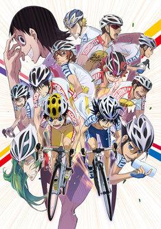TVアニメ「弱虫ペダル」のキービジュアル。 (c)渡辺航(週刊少年チャンピオン)/弱虫ペダル製作委員会