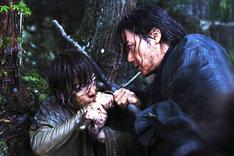福山は激しいアクションシーンにも挑戦した。 (c)和月伸宏/集英社 (c)2014「るろうに剣心 京都大火/伝説の最期」製作委員会